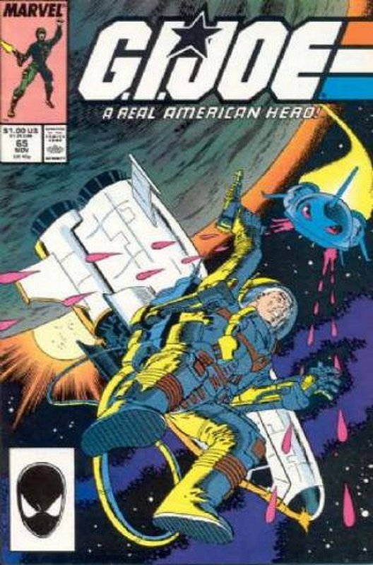 Cover of GI Joe: A Real American Hero #65. One of 250,000 Vintage American Comics on sale from Krypton!