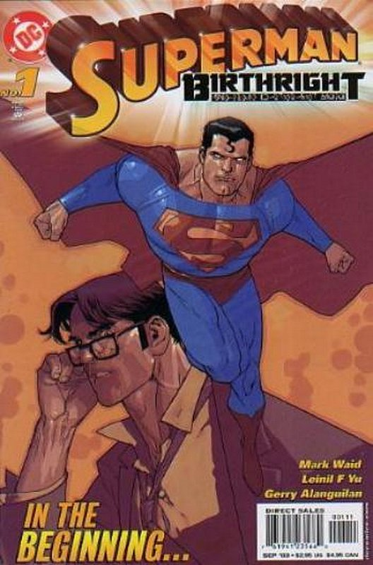 Cover of Superman: Birthright (2003 Ltd) #1. One of 250,000 Vintage American Comics on sale from Krypton!