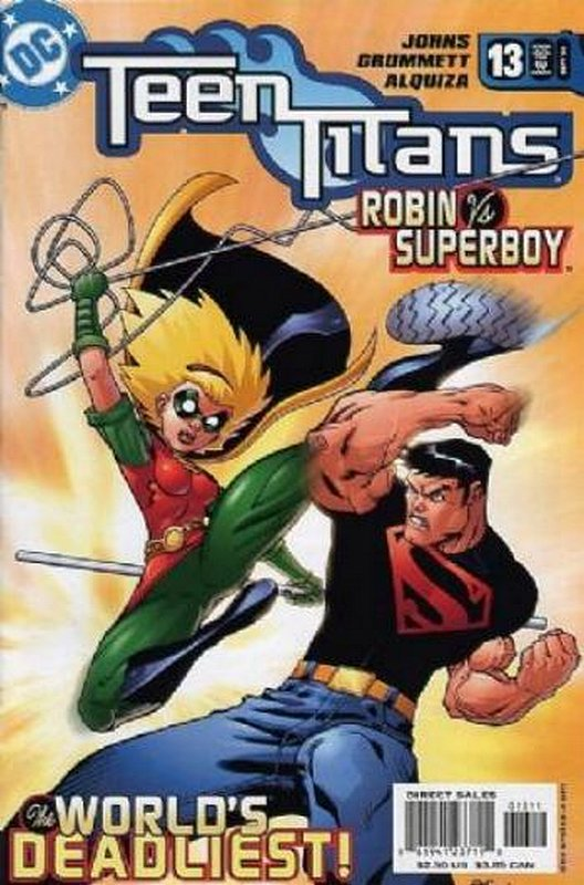 Cover of Teen Titans (Vol 3) #13. One of 250,000 Vintage American Comics on sale from Krypton!