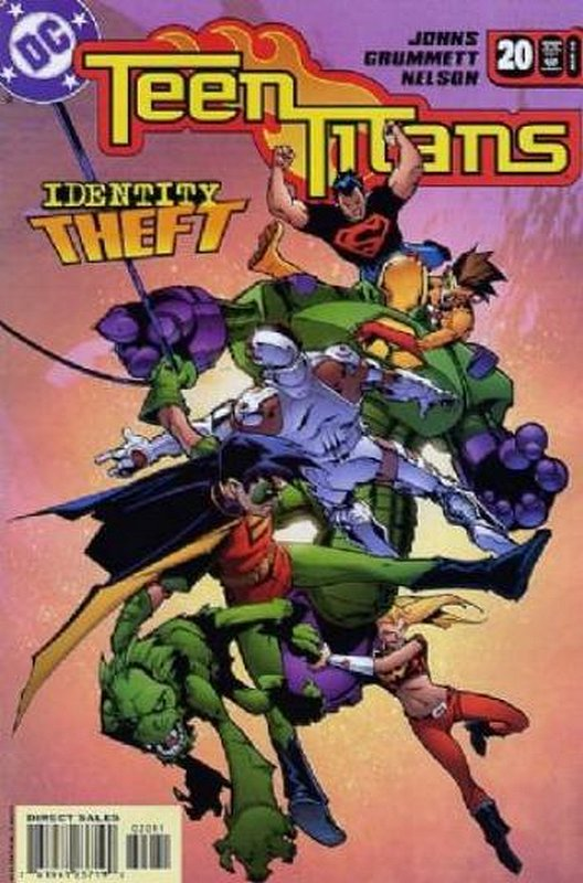 Cover of Teen Titans (Vol 3) #20. One of 250,000 Vintage American Comics on sale from Krypton!