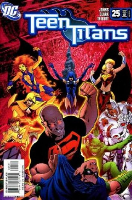 Cover of Teen Titans (Vol 3) #25. One of 250,000 Vintage American Comics on sale from Krypton!