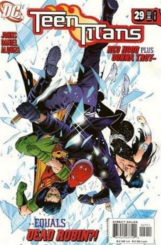 Cover of Teen Titans (Vol 3) #29. One of 250,000 Vintage American Comics on sale from Krypton!