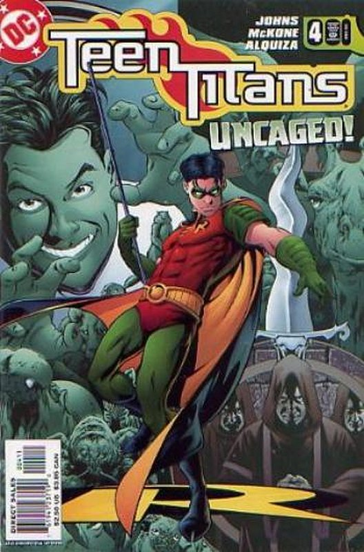 Cover of Teen Titans (Vol 3) #4. One of 250,000 Vintage American Comics on sale from Krypton!