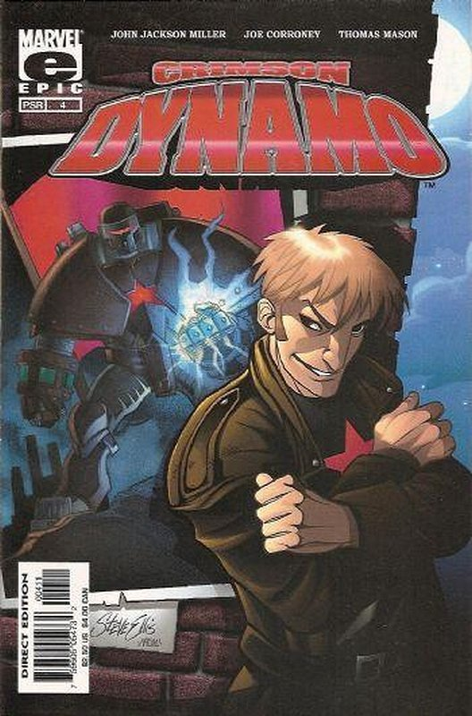 Cover of Crimson Dynamo (Vol 1) #4. One of 250,000 Vintage American Comics on sale from Krypton!