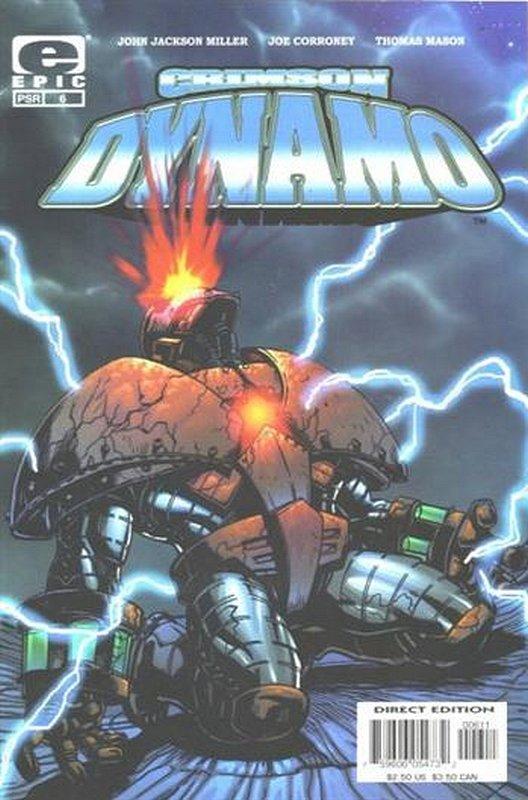 Cover of Crimson Dynamo (Vol 1) #6. One of 250,000 Vintage American Comics on sale from Krypton!