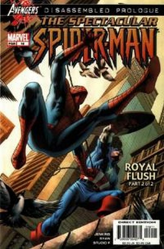 Cover of Spectacular Spider-Man (Vol 2) #16. One of 250,000 Vintage American Comics on sale from Krypton!