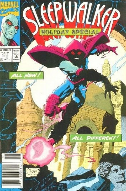 Cover of Sleepwalker Holiday Special (1993 One Shot) #1. One of 250,000 Vintage American Comics on sale from Krypton!