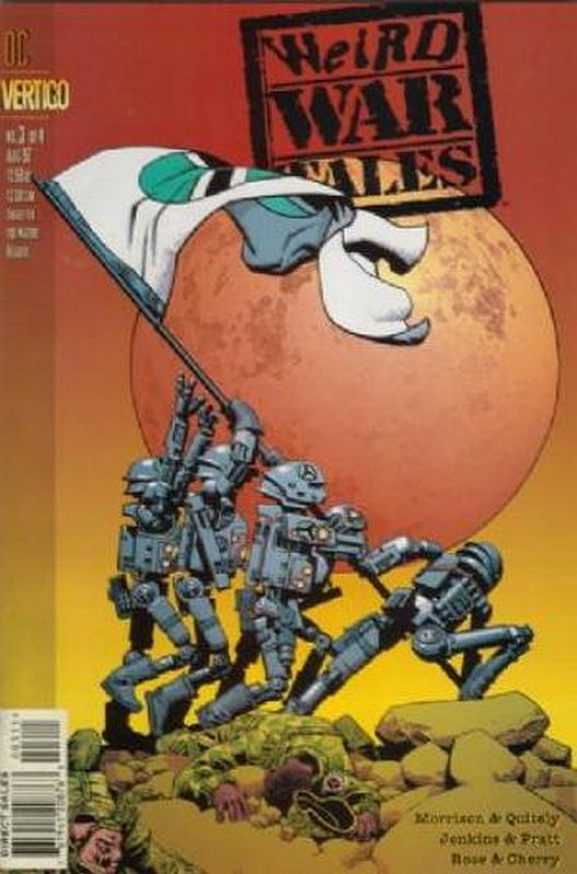 Cover of Weird War Tales (1997 Ltd) #3. One of 250,000 Vintage American Comics on sale from Krypton!