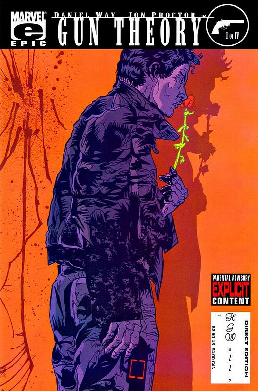 Cover of Gun Theory (2003 Ltd) #1. One of 250,000 Vintage American Comics on sale from Krypton!