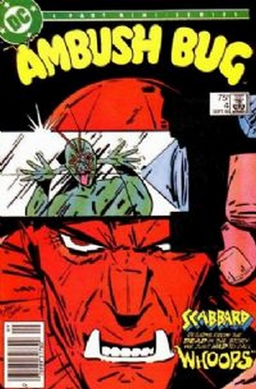 Cover of Ambush Bug (1985 Ltd) #4. One of 250,000 Vintage American Comics on sale from Krypton!