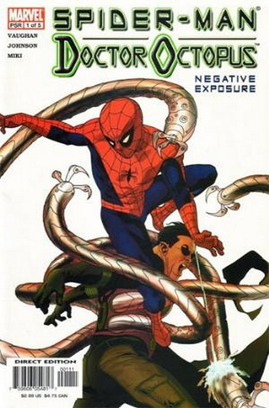 Cover of Spider-Man/Doctor Octopus: Negative Exposure #1. One of 250,000 Vintage American Comics on sale from Krypton!