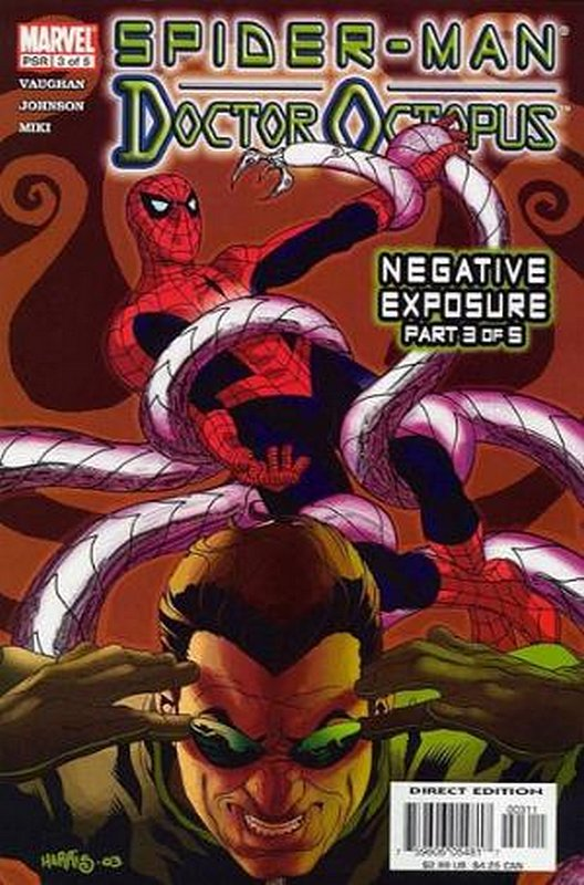Cover of Spider-Man/Doctor Octopus: Negative Exposure #3. One of 250,000 Vintage American Comics on sale from Krypton!