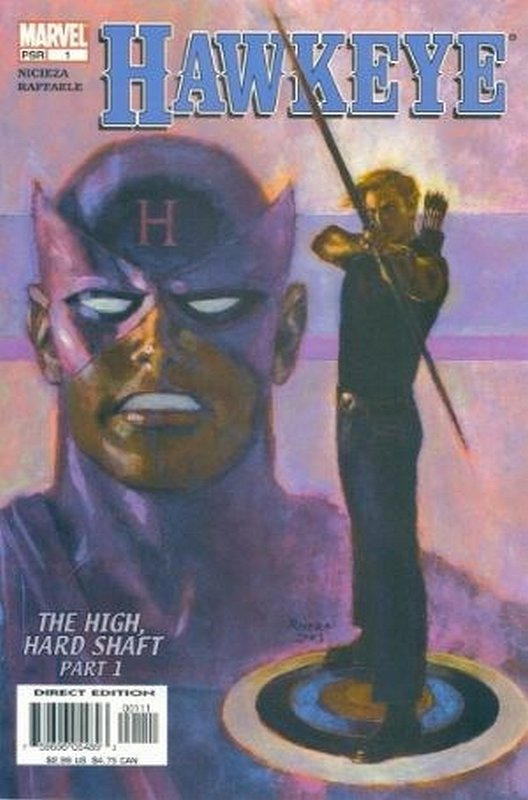 Cover of Hawkeye (Vol 1) #1. One of 250,000 Vintage American Comics on sale from Krypton!
