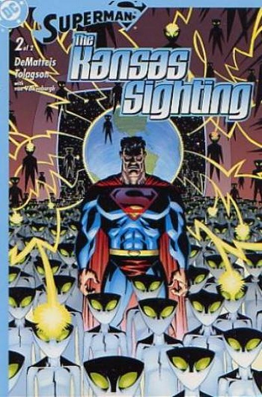 Cover of Superman: The Kansas Sighting (2003 Ltd) #2. One of 250,000 Vintage American Comics on sale from Krypton!