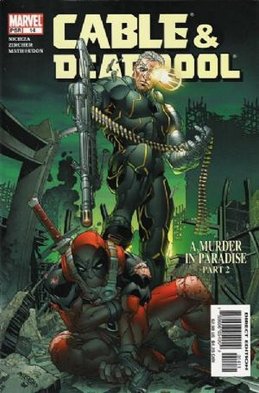 Cover of Cable & Deadpool #14. One of 250,000 Vintage American Comics on sale from Krypton!