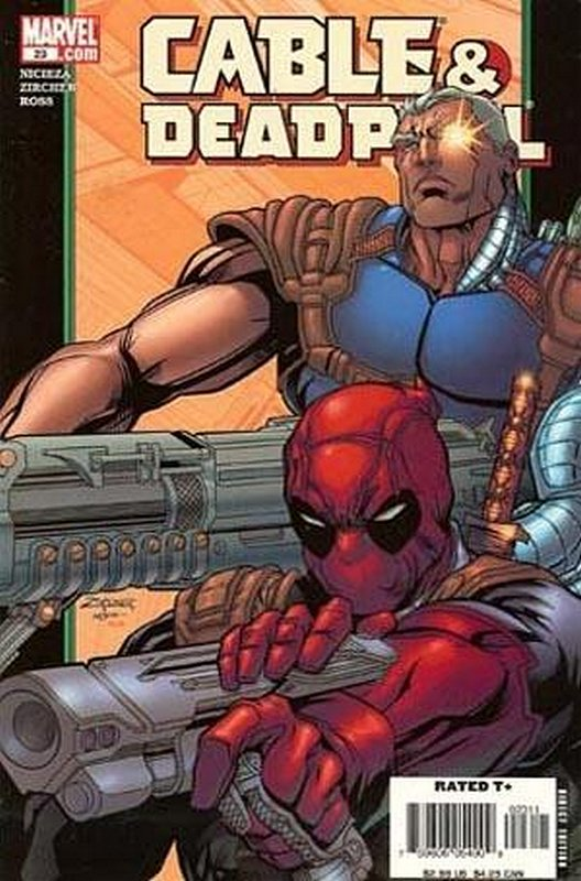 Cover of Cable & Deadpool #23. One of 250,000 Vintage American Comics on sale from Krypton!