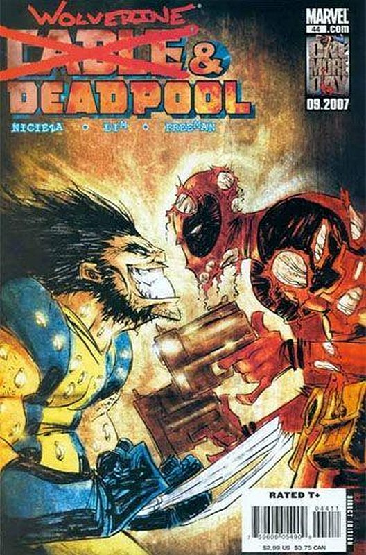 Cover of Cable & Deadpool #44. One of 250,000 Vintage American Comics on sale from Krypton!