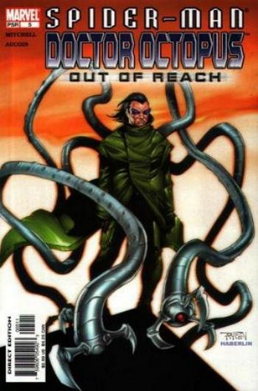Cover of Spider-Man/Doctor Octopus: Out of Reach #5. One of 250,000 Vintage American Comics on sale from Krypton!