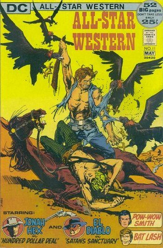 Cover of All-Star Western (Vol 2) #11. One of 250,000 Vintage American Comics on sale from Krypton!