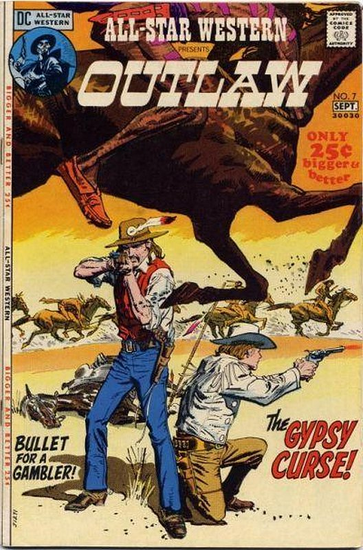 Cover of All-Star Western (Vol 2) #7. One of 250,000 Vintage American Comics on sale from Krypton!