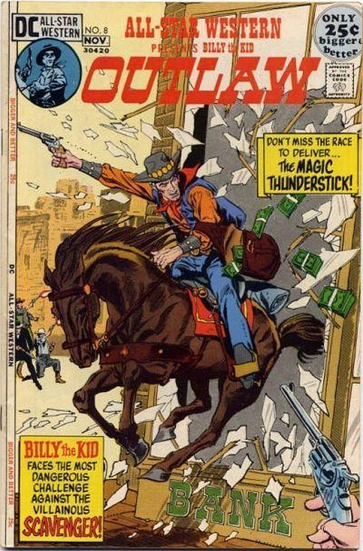 Cover of All-Star Western (Vol 2) #8. One of 250,000 Vintage American Comics on sale from Krypton!