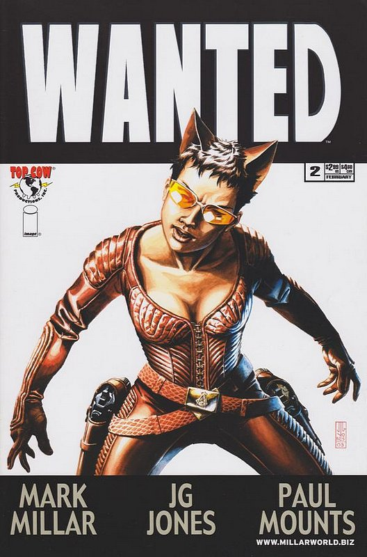 Cover of Wanted (2003 Ltd) #2. One of 250,000 Vintage American Comics on sale from Krypton!