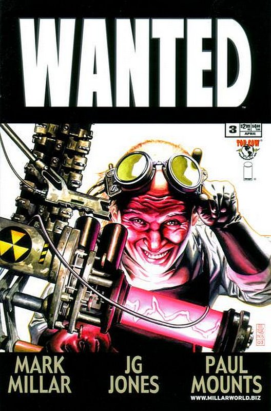 Cover of Wanted (2003 Ltd) #3. One of 250,000 Vintage American Comics on sale from Krypton!