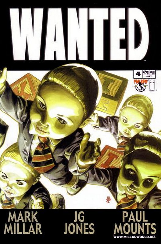 Cover of Wanted (2003 Ltd) #4. One of 250,000 Vintage American Comics on sale from Krypton!