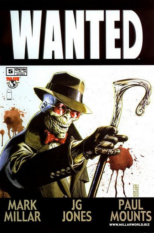 Cover of Wanted (2003 Ltd) #5. One of 250,000 Vintage American Comics on sale from Krypton!