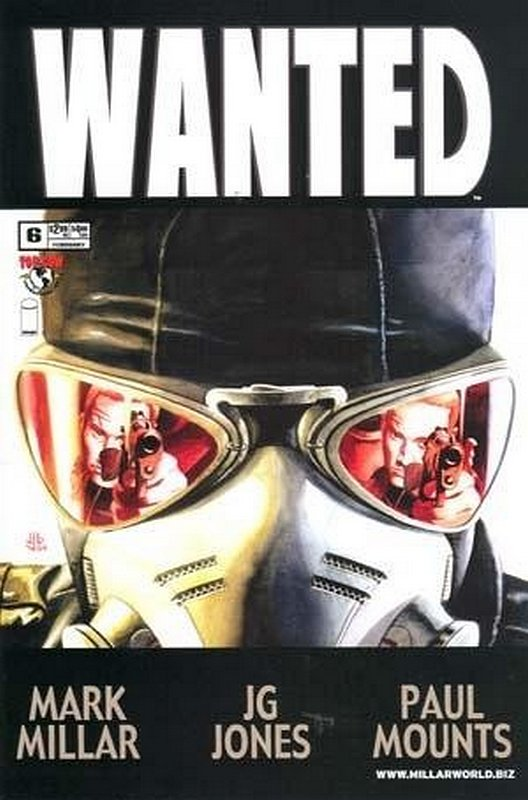 Cover of Wanted (2003 Ltd) #6. One of 250,000 Vintage American Comics on sale from Krypton!