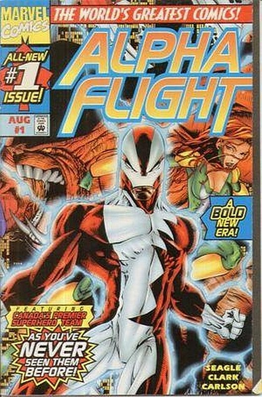 Cover of Alpha Flight (Vol 2) #1. One of 250,000 Vintage American Comics on sale from Krypton!