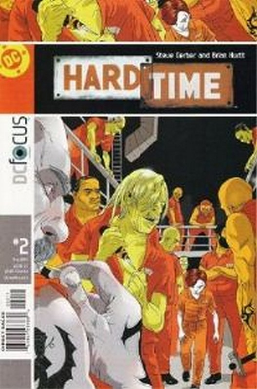Cover of Hard Time (Vol 1) #2. One of 250,000 Vintage American Comics on sale from Krypton!
