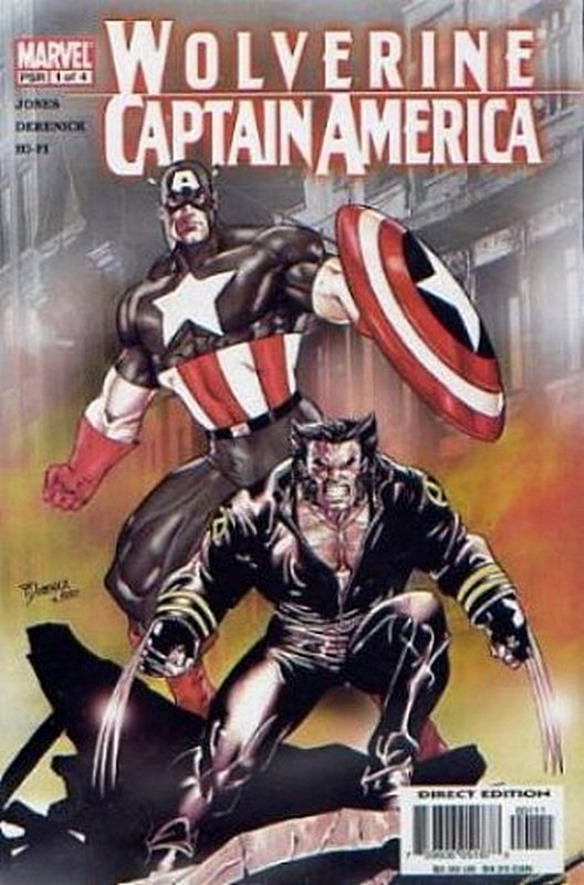Cover of Wolverine/Captain America (2004 Ltd) #1. One of 250,000 Vintage American Comics on sale from Krypton!