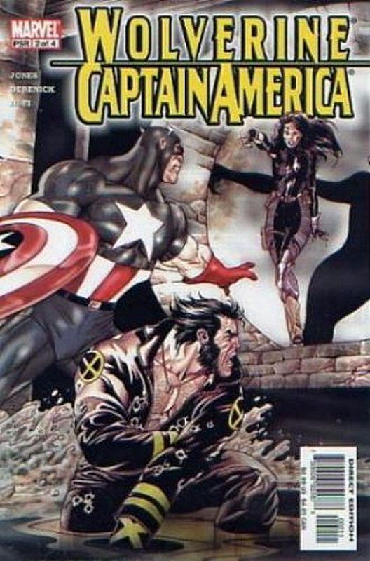 Cover of Wolverine/Captain America (2004 Ltd) #2. One of 250,000 Vintage American Comics on sale from Krypton!