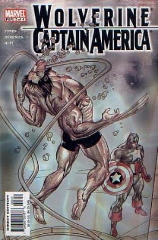 Cover of Wolverine/Captain America (2004 Ltd) #3. One of 250,000 Vintage American Comics on sale from Krypton!