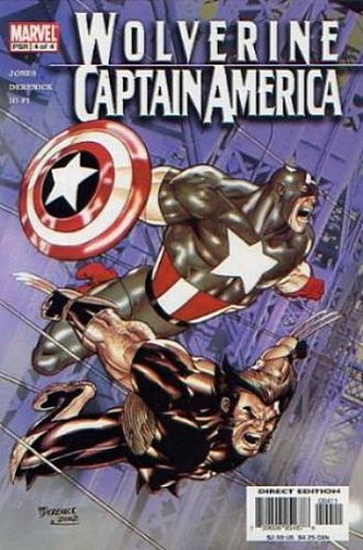Cover of Wolverine/Captain America (2004 Ltd) #4. One of 250,000 Vintage American Comics on sale from Krypton!