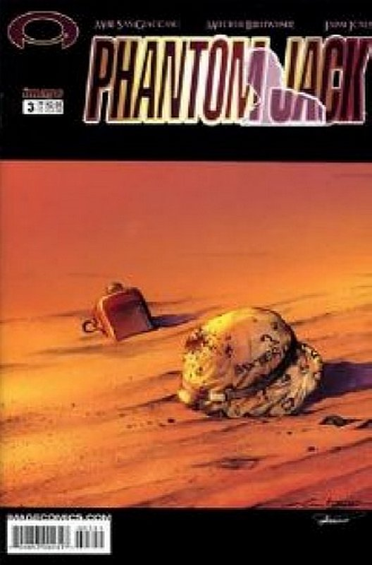 Cover of Phantom Jack (Vol 1) #3. One of 250,000 Vintage American Comics on sale from Krypton!
