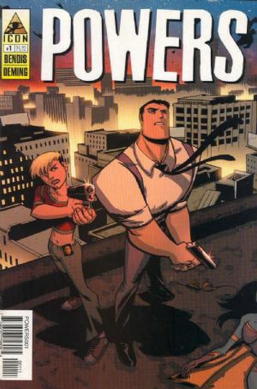 Cover of Powers (Vol 2) #1. One of 250,000 Vintage American Comics on sale from Krypton!