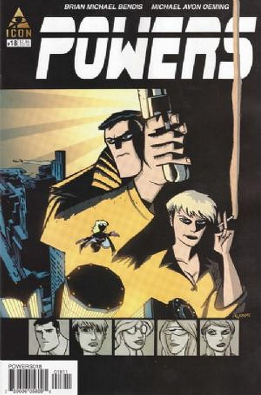 Cover of Powers (Vol 2) #18. One of 250,000 Vintage American Comics on sale from Krypton!