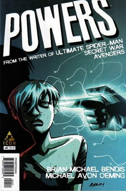 Cover of Powers (Vol 2) #4. One of 250,000 Vintage American Comics on sale from Krypton!