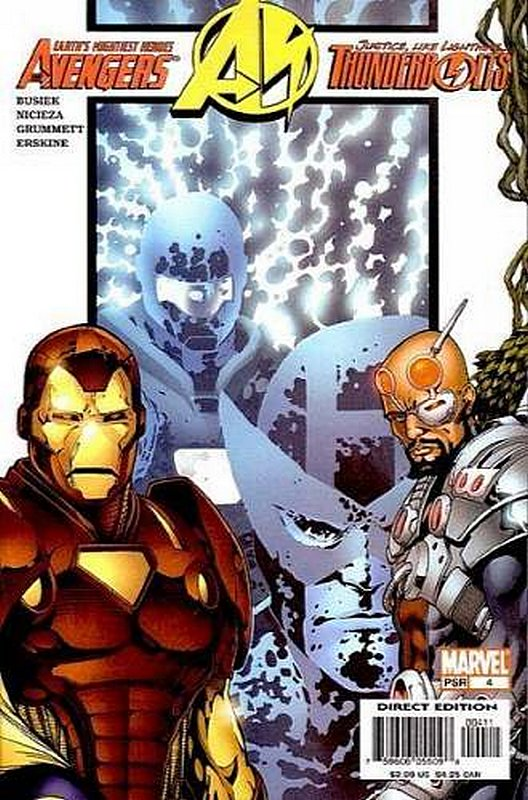 Cover of Avengers/Thunderbolts (2004 Ltd) #4. One of 250,000 Vintage American Comics on sale from Krypton!