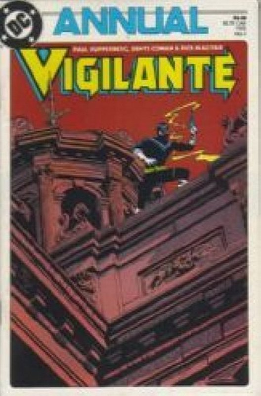 Cover of Vigilante Annual (Vol 1) #1. One of 250,000 Vintage American Comics on sale from Krypton!