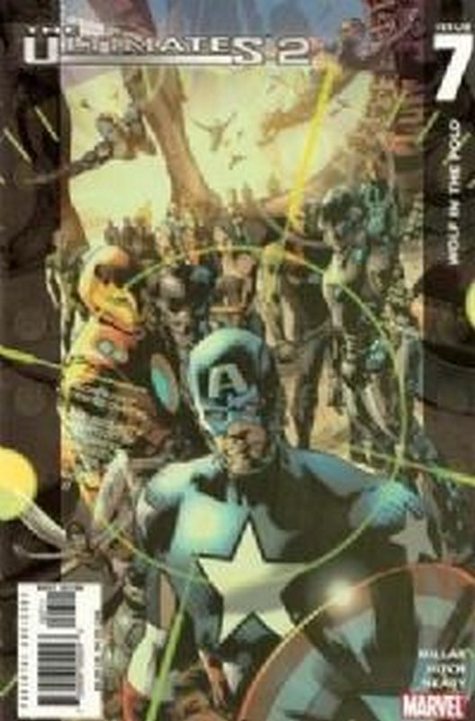 Cover of Ultimates (Vol 2) #7. One of 250,000 Vintage American Comics on sale from Krypton!