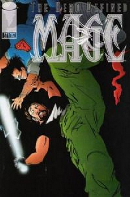 Cover of Mage - The Hero Defined #12. One of 250,000 Vintage American Comics on sale from Krypton!