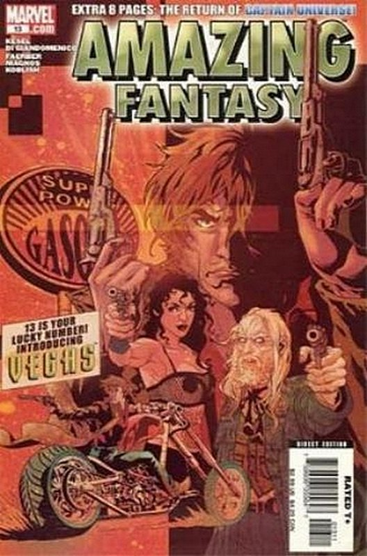 Cover of Amazing Fantasy (Vol 2) #13. One of 250,000 Vintage American Comics on sale from Krypton!