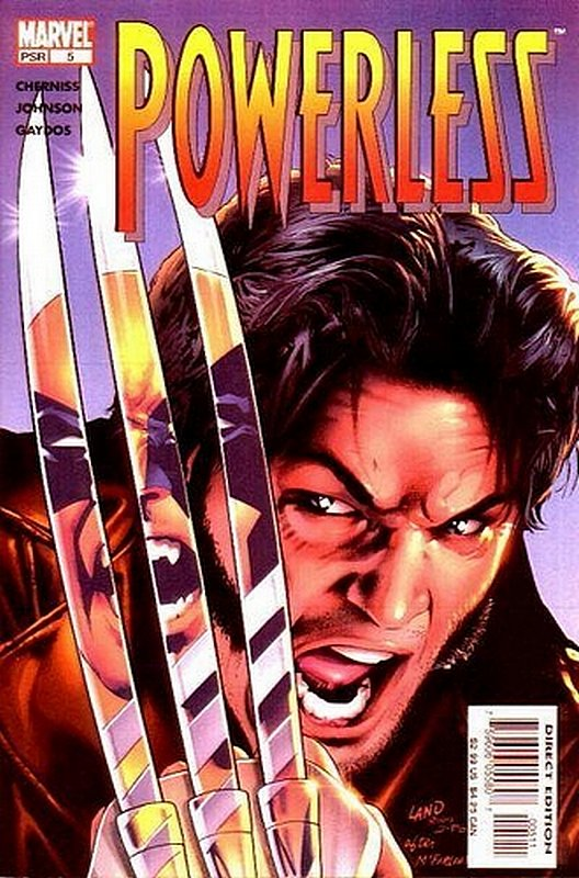 Cover of Powerless (2004 Ltd) #5. One of 250,000 Vintage American Comics on sale from Krypton!