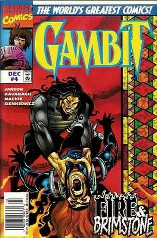 Cover of Gambit (1997 Ltd) #4. One of 250,000 Vintage American Comics on sale from Krypton!