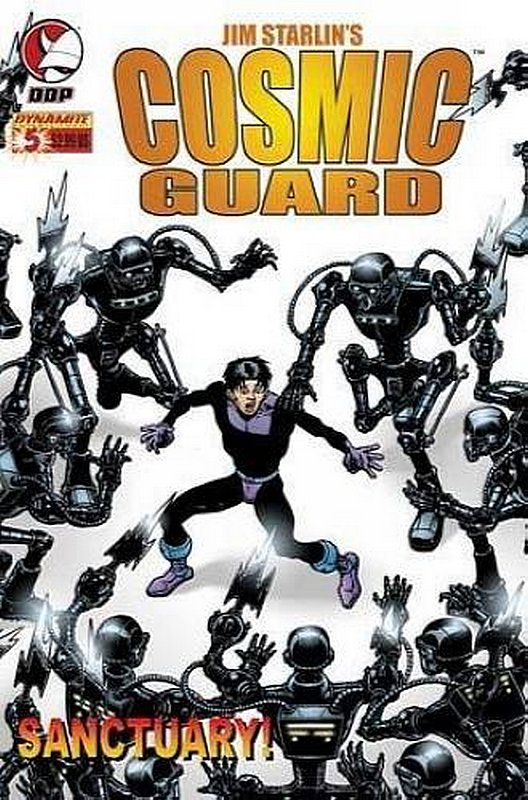 Cover of Cosmic Guard (Vol 1) #5. One of 250,000 Vintage American Comics on sale from Krypton!