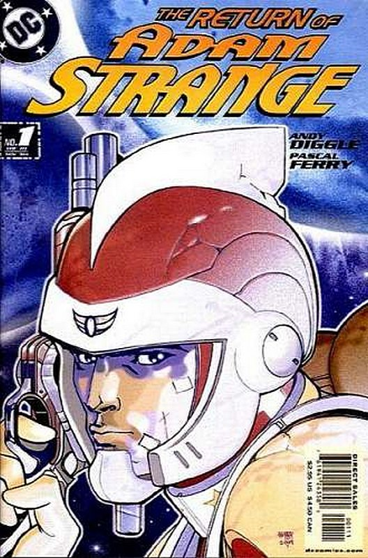 Cover of Adam Strange (2004 Ltd) #1. One of 250,000 Vintage American Comics on sale from Krypton!