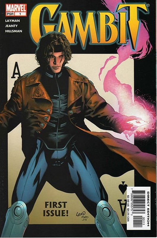 Cover of Gambit (Vol 2) #1. One of 250,000 Vintage American Comics on sale from Krypton!